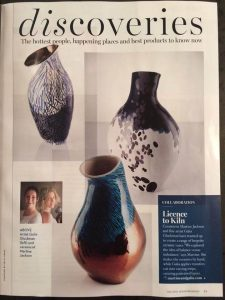 "Press Coverage for ""Galia and Martine Collaborate."""